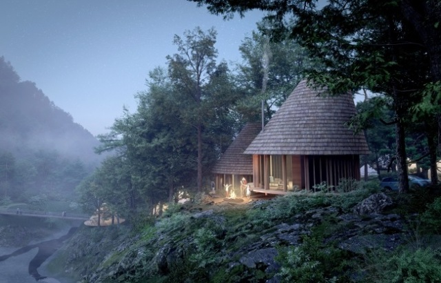 Japan's beautiful new campground looks perfect for living out your Princess Mononoke fantasies