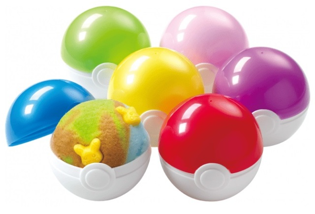 You can get your Baskin-Robbins ice cream served in a Poké Ball in Japan