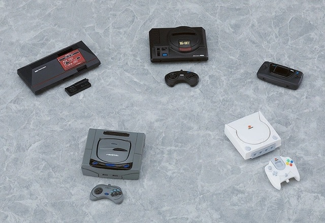 Scale SEGA! Game company's greatest consoles recreated in miniature for your figures to play with