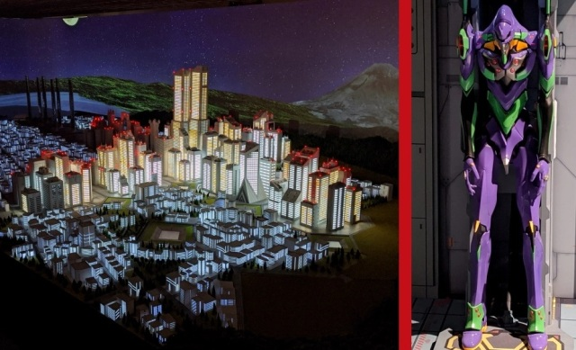 You can now visit a recreation of Evangelion's Tokyo-3 and live there in miniature form in【Pics】