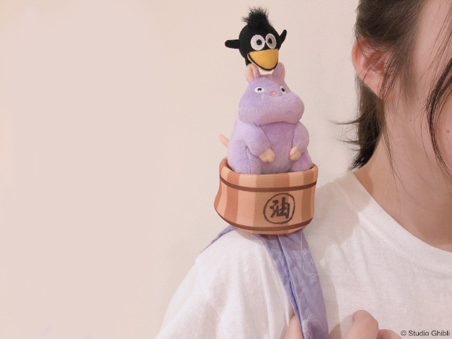 Studio Ghibli releases new plush characters that turn into eco-friendly reusable shopping bags
