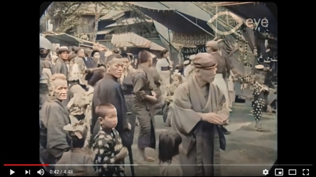 Tokyo in 60 frames-per-second, 107 years in the past, looks amazing【Video】