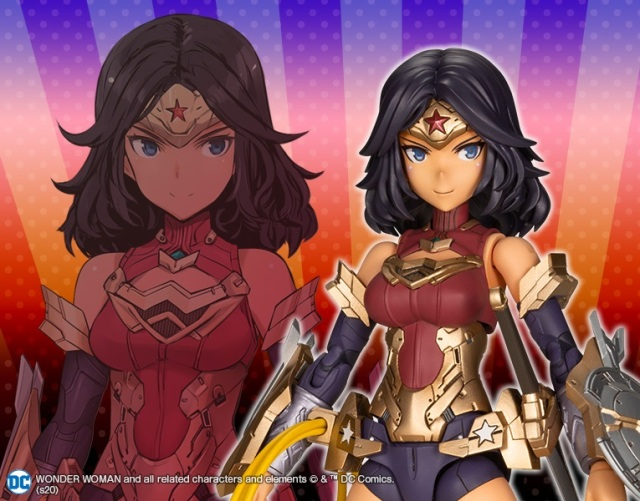 Wonder Woman goes anime-style with redesign figure from famous Japanese artist【Photos】
