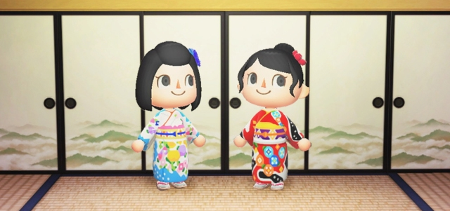 Authentic kimono fashions await you in Animal Crossing from Kyoto furisode tailor Chiso【Pics】