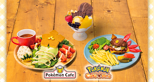 Pokémon Cafes in Tokyo and Osaka to have special Pokémon Café Mix-inspired menu