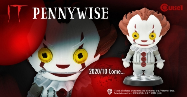 Spend Halloween with this adorable yet terrifying Pennywise figurine