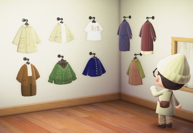 Dress your Animal Crossing character in custom fashions by Japanese brand Sig Freak's Store