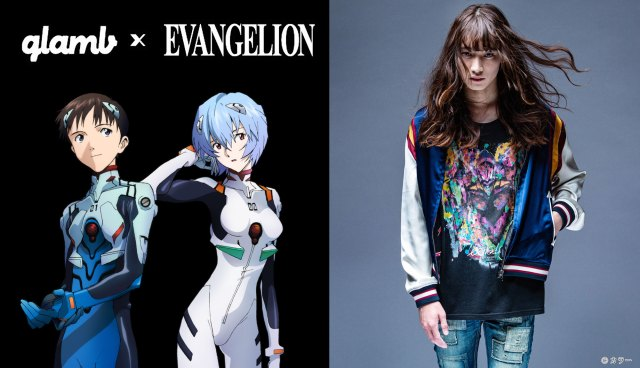 Evangelion teams up with fashion brand glamb to bring us seriously cool street art apparel