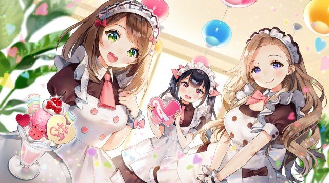 Missing the maid café? Virtual @Home Café lets you chat with cute virtual maids at home!