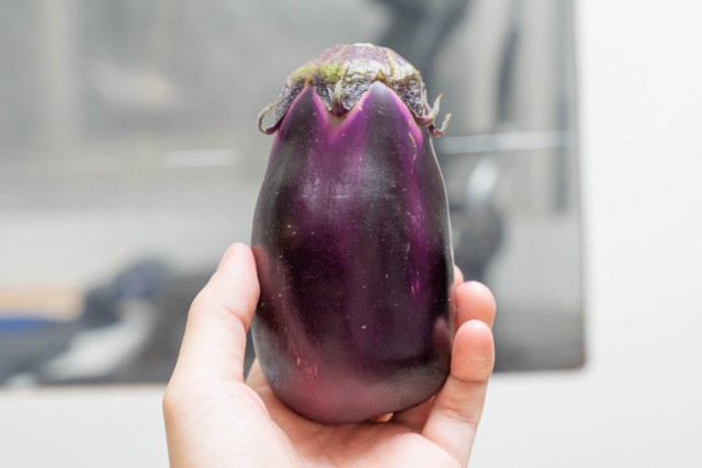 "We tried eating a raw ""mizu nasu"" eggplant, and it tastes like a weird fruit【Taste Test】"