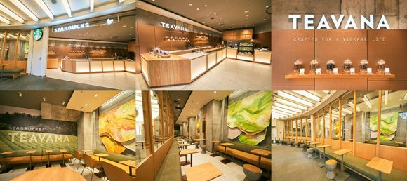 Starbucks revamps cafe in the heart of Tokyo's Roppongi to create tea-centered haven