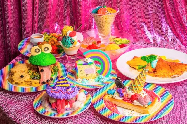 Feast your multiple eyes on the Harajuku Kawaii Monster Cafe's tasty, toothsome dishes