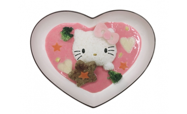 Hello Kitty offers limited-time hospitality at Narita Airport with cute kitty drinks and meals