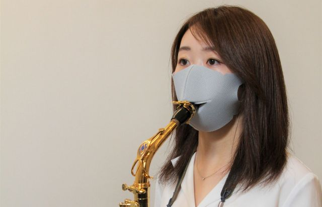 Japanese company creates face masks for musicians