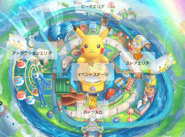 Pokémon theme park opening in virtual space with Pikachu dance shows, cosplay, and escape games