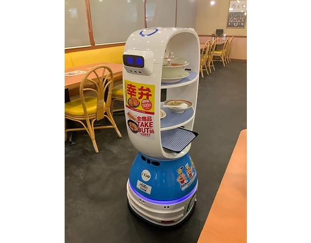 Unit K-1, Japan's brand-new ramen waiter robot, is bringing the future to our stomachs
