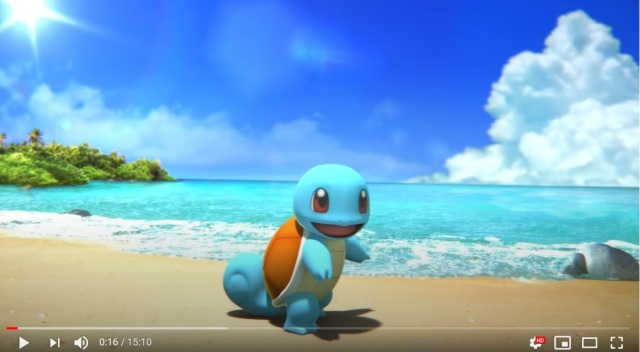 It's time for a Pokémon ASMR trip to the seaside with Squirtle's Day at the Beach!【Video】