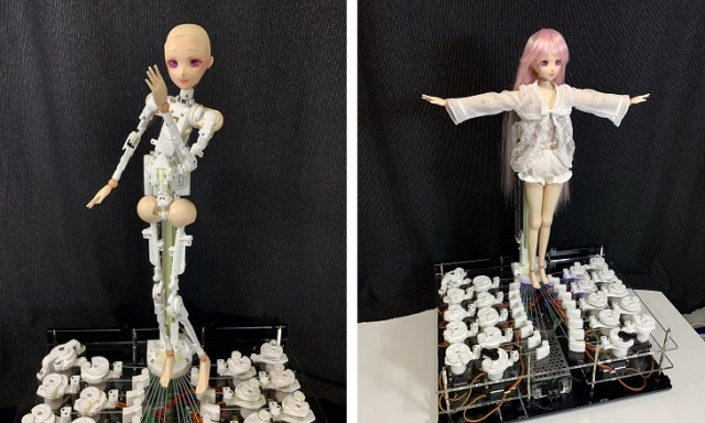 Dancing mini idol robots with customizable parts available for sale in Japan【Video】