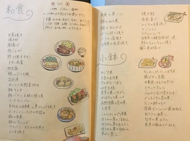 "Japanese wife/artist solves ""I don't know. What do YOU want to eat?"" problem in an awesome way"