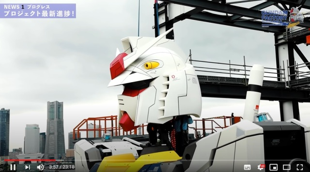 Japan's new life-size Gundam is complete and standing proud in Yokohama!【Photos/Video】