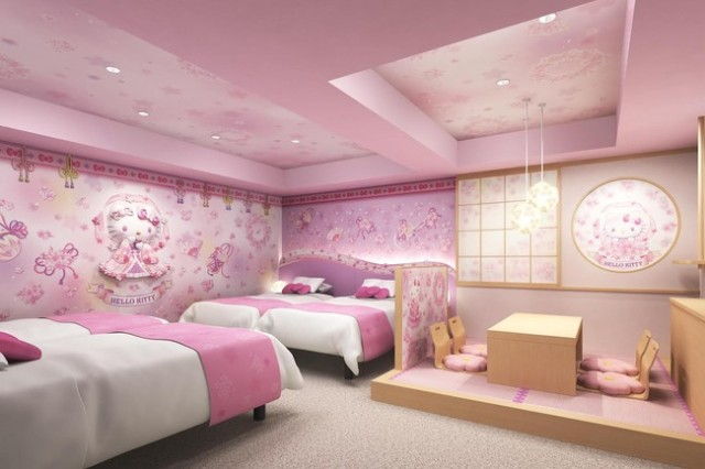 Possibly the cutest hotel rooms in the world – Hello Kitty themed rooms to open in Tokyo