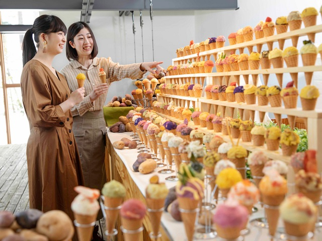 Hokkaido resort offering vibrant bounty of gelato lookalikes…made of potato?!?