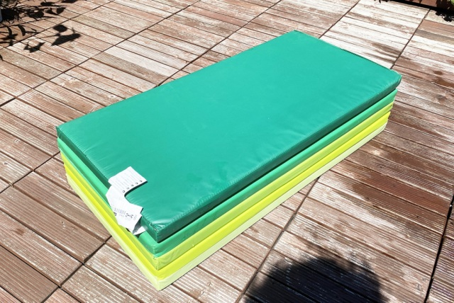 Our Reporter Makes A Slip And Slide Out Of Ikea Gym Mats But Does It Deliver Video Soranews24 Japan News