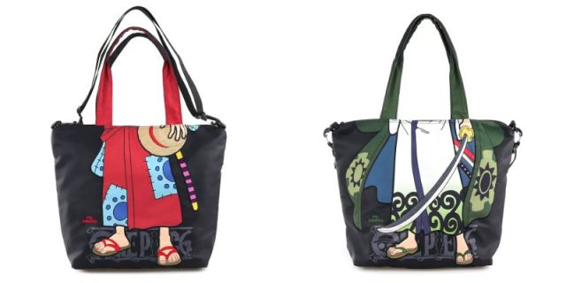 One Piece teams up with Japanese fashion brand mis zapatos for funky, fashionable bags