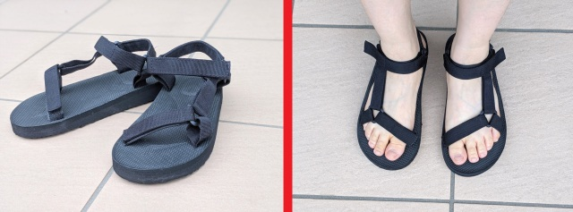 Can these Daiso sandals stand up to Teva sandals? Here's what we thought