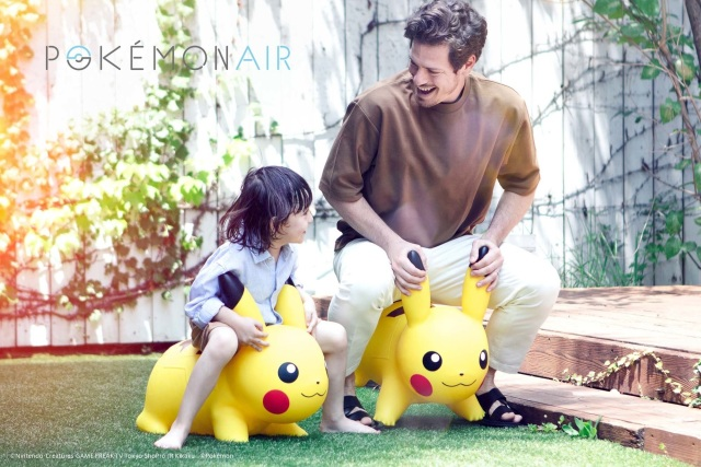 New inflatable Pikachu is cute enough for kids, strong enough for adults【Photos】
