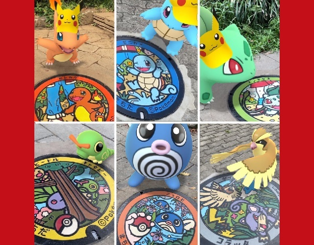 Getting tired of Pokémon Go? Maybe visiting the Pokémon manhole covers will reignite your passion