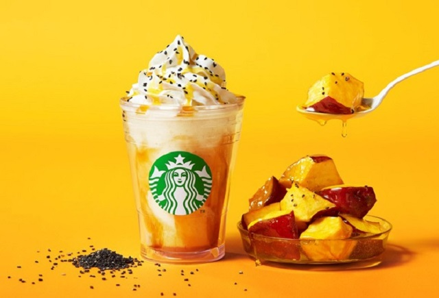 New sweet potato/college potato Frappuccino joins the roster at Starbucks Japan