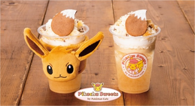 "Eevee evolves into the latest Pokémon dessert with an adorable, drinkable ""apple pie"""