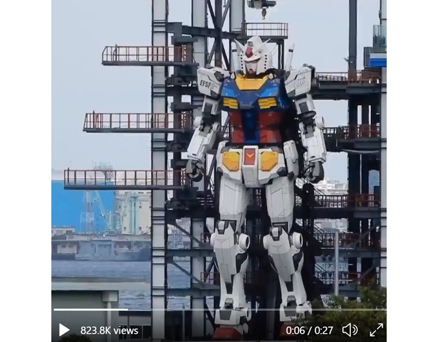Life-size Gundam statue in Japan can now move, and it looks incredible【Videos】