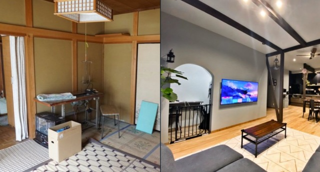 Abandoned Japanese houses transformed into stunning modern homes