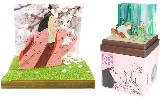 Princess Kaguya dioramas let you decorate your home with art of Ghibli's uniquely beautiful anime