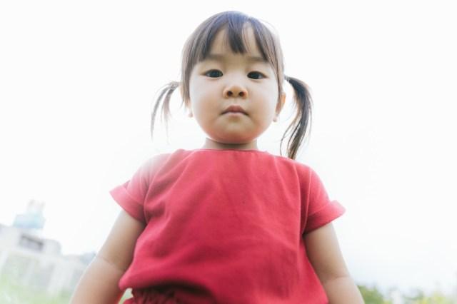 Japanese schoolgirl struggles to comprehend the shocking truth that her mom is Kamen Rider