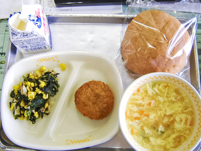 Japanese survey takers go back to school to vote on their favorite school lunch menu items
