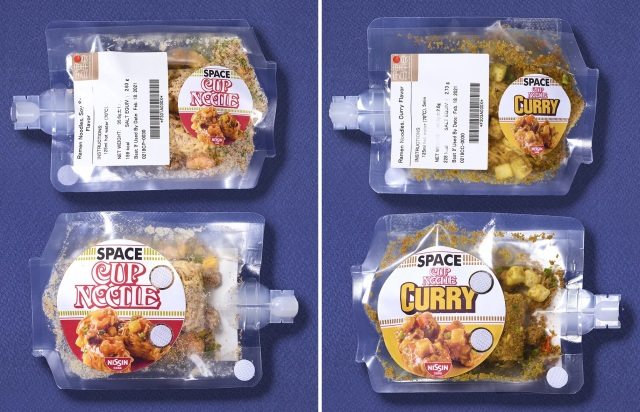 Cup Noodle's Nissin develops space ramen, space curry rice for astronauts to eat among the stars