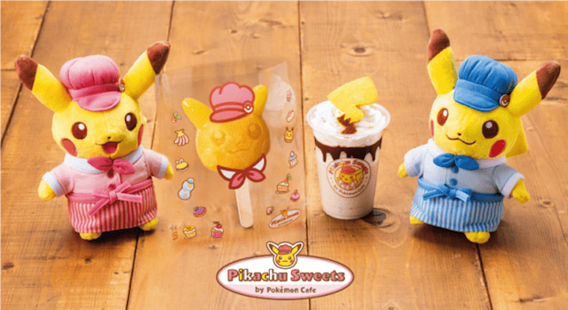 Watch out … Here come more electrifyingly cute treats from Pikachu Sweets by Pokémon Cafe!