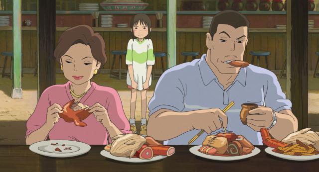 Studio Ghibli animator reveals the secret food eaten by Chihiro's parents in Spirited Away