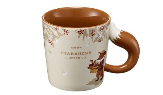 Starbucks Korea 2020 Autumn fox dripper