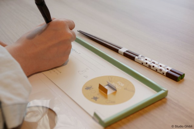 "Studio Ghibli unveils new ""chopstick letters"" to send to loved ones"