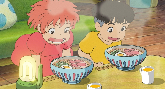 Studio Ghibli anime art appears in new ad campaign: What if our mugs were used in Ghibli films?