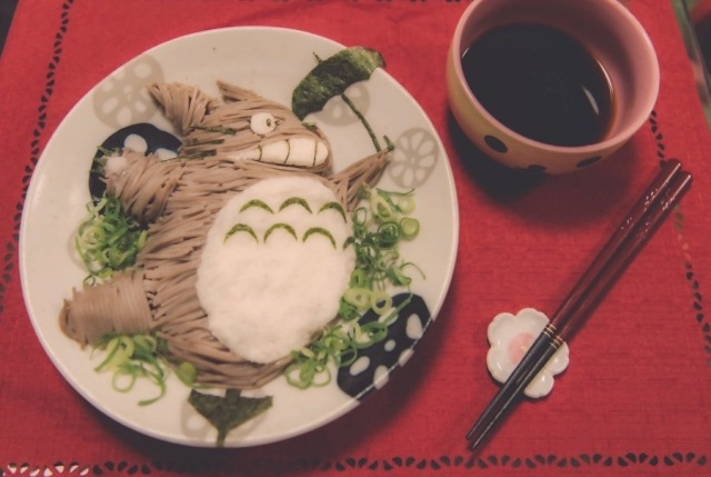 How to turn a classic Japanese noodle dish into Studio Ghibli's Totoro