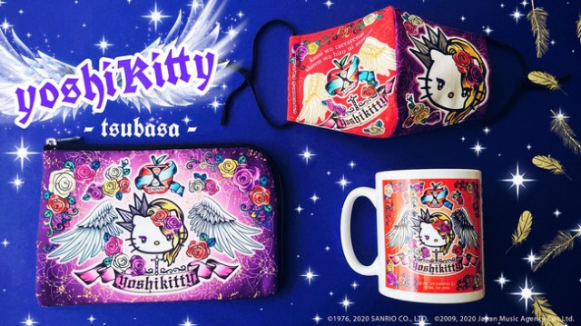Yoshikitty returns to protect you from coronavirus on stylish new goods