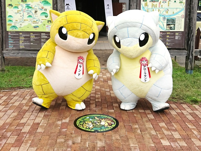 Five new Pokémon manhole covers arrive in Tottori Prefecture, now with one in every municipality