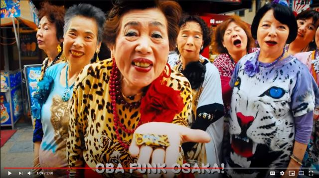 Osaka's aged idol group Obachaaan still on fire, also helping prevent fires