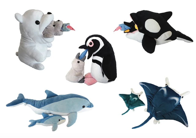 Behold the cycle of life with new Japanese plushie sets depicting the food chain and more