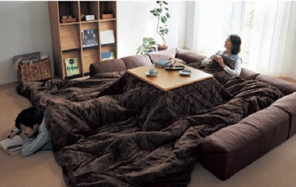 You and your family can kiss productivity goodbye with this ginormous kotatsu futon
